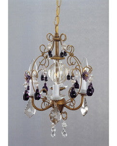Trans Globe Lighting 147245-KA-001 Four Light Chandelier in Gold Finish - Quality Discount Lighting