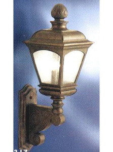 Kichler Lighting 9644 LZ Three Light Legacy Bronze Outdoor Wall Mount Lantern - Quality Discount Lighting