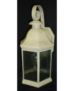 Designers Fountain Lighting 2541SA One Light Outdoor Exterior Wall Mount Lantern in Sand Finish - Quality Discount Lighting