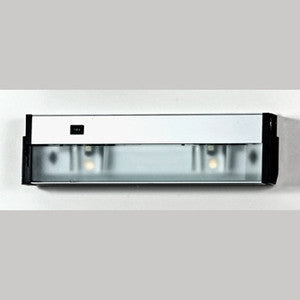 Quoizel UC1116SS Two Light Under Cabinet in Stainless Steel/White/Bronze Finish - Quality Discount Lighting