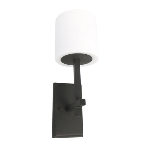 Adjustapost Lighting LPX-LMS62151RU One Light Wall Sconce in Rust Finish