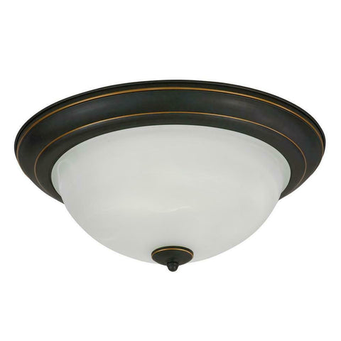 AFX CYF152400L30D1RB Canterbury Collection LED Ceiling Fixture in Oil Rubbed Bronze Finish