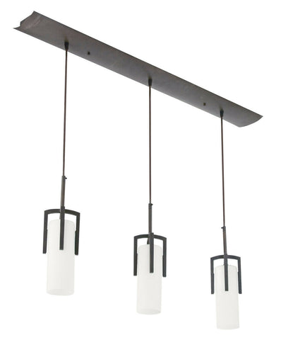 AFX REPB4313RBEC Restoration Collection Three Light Linear LED Pendant in Oil Rubbed Bronze Finish