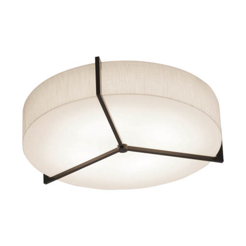 AFX APF193200L27D2ES-LW Apex Collection LED Ceiling Fixture in Espresso Brown Wood Finish
