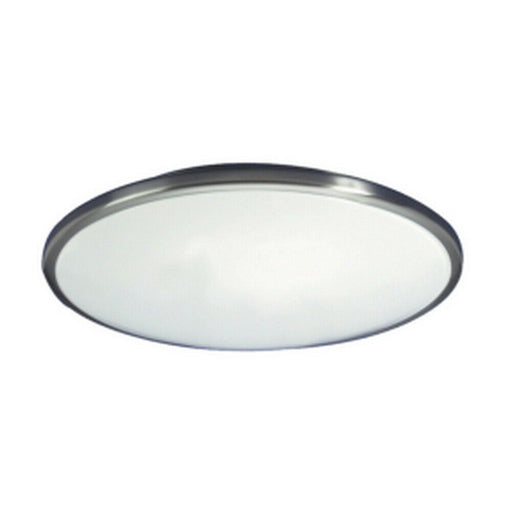 AFX CFF091100L27D1BN Capri Collection LED Ceiling Flush Mount in Brushed Nickel Finish