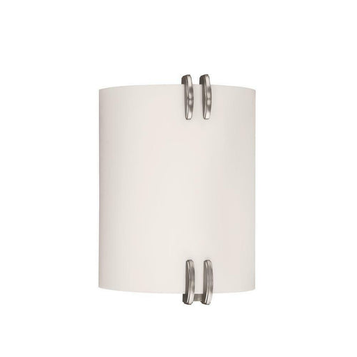 AFX CES213SNPMV Century Collection Two Light Energy Efficient Fluorescent Wall Sconce in Satin Nickel Finish