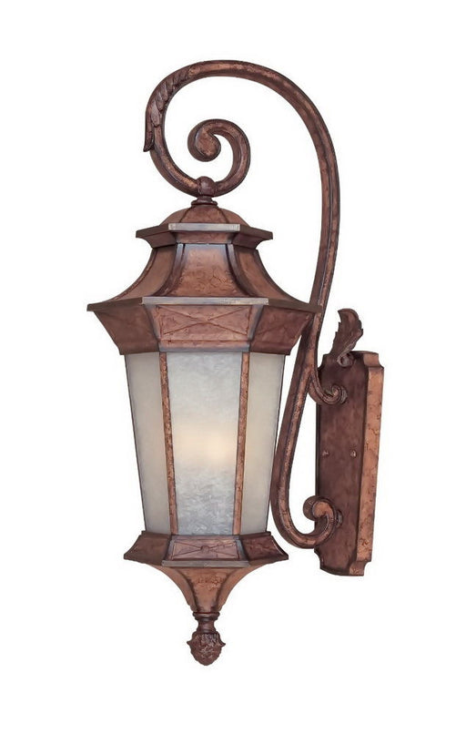 Designers Fountain Lighting 20841 EL Four Light Outdoor Exterior Wall Lantern in English Burl Finish - Quality Discount Lighting