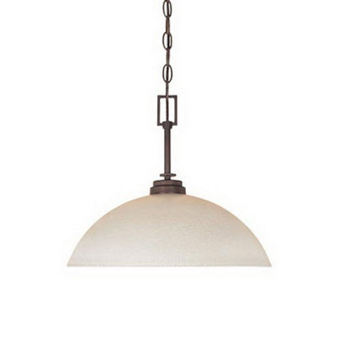 Designers Fountain Lighting 81632 TU Harlow Collection One Light Hanging Pendant Chandelier in Tuscana Bronze Finish - Quality Discount Lighting