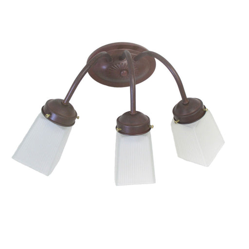 Epiphany Lighting 106032 CS-CLG7 Three Light Bath Wall Fixture in Cobblestone Finish - Quality Discount Lighting
