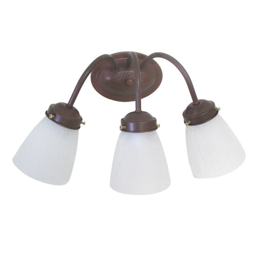 Epiphany Lighting 106032 CS-CLG8 Three Light Bath Wall Fixture in Cobblestone Finish - Quality Discount Lighting