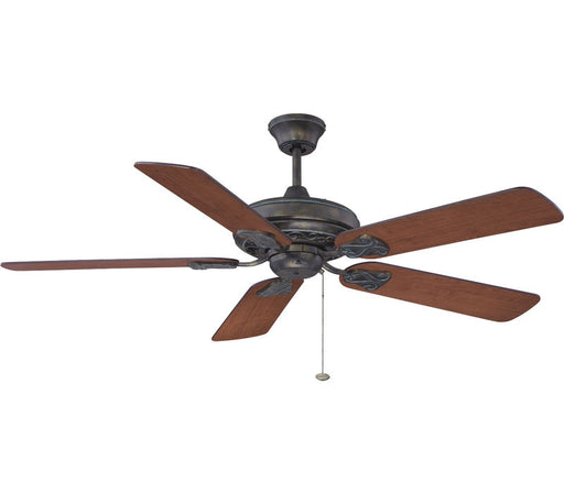 Craftmade Ellington MAJ52AVG5 Majestic Model Ceiling Fan in Antique Verde Gold Finish - Quality Discount Lighting