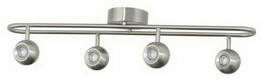 AFX ELSF301800L30SN Ellos Collection Four Light LED Flush Fixed Track in Satin Nickel Finish