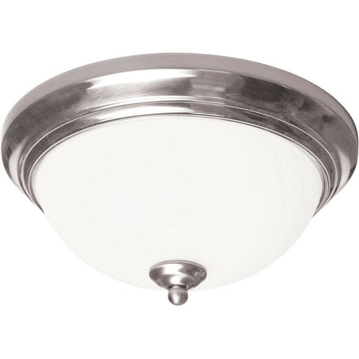 AFX CYF15218GU27SN Two Light LED Ceiling Fixture in Satin Nickel Finish