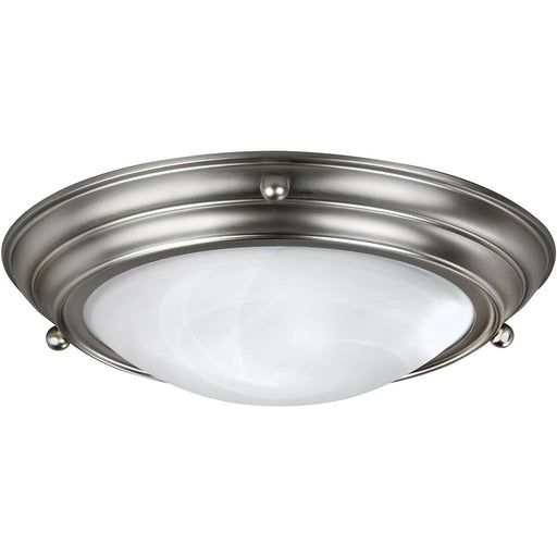 AFX HF6213BNSCT Two Light LED Ceiling Fixture in Brushed Nickel Finish