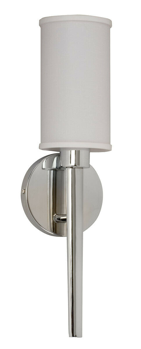 AFX MIHUS132PCEC-LA Huron Collection One Light Energy Efficient Fluorescent Wall Sconce in Polished Chrom Finish