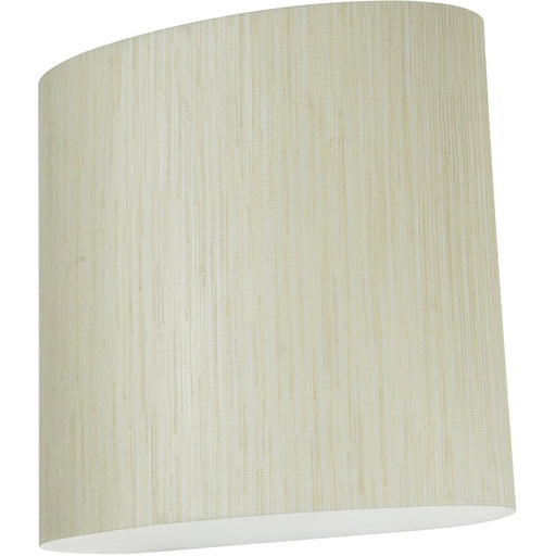 AFX ANS108113QMV-LW Anton Jute Collection One Light Energy Efficient Fluorescent Wall Sconce