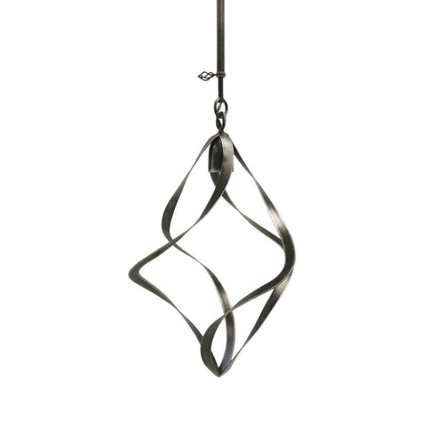Kalco Lighting B2695 VI Oxford Collection One Light Hanging Pendant in Vintage Iron Finish