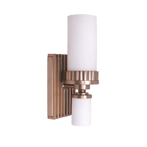 Kalco Lighting 8141 BR  One Light Wall Sconce in Burnished Brass Finish