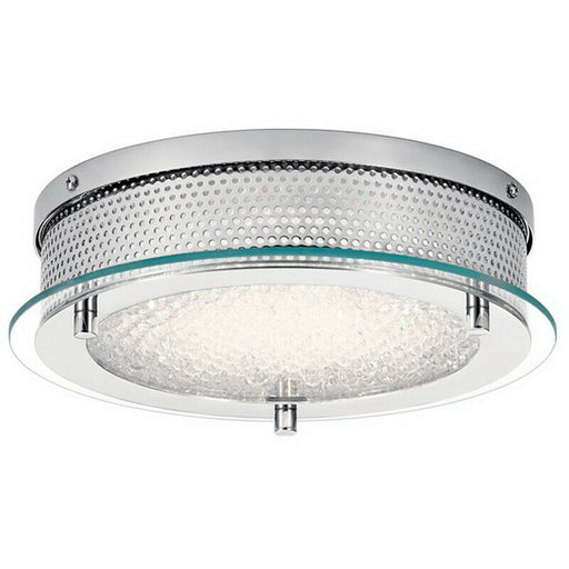 Kichler Lighting 38219 Krystal Ice Collection LED Dual Mount - Flush or Recessed Fixture in Chrome Finish