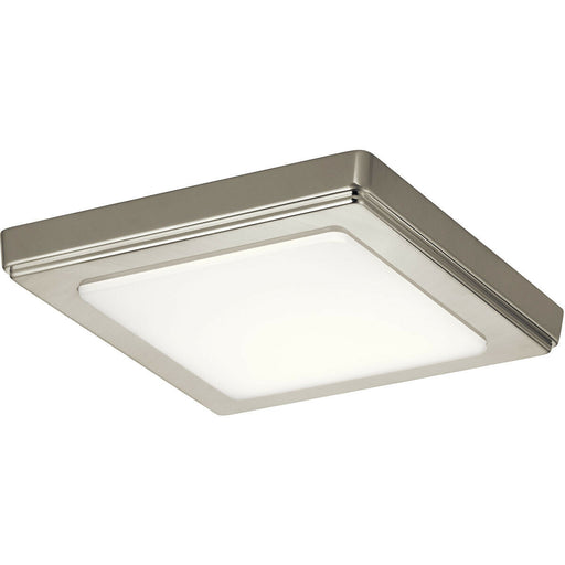 Kichler Lighting 44245NILED30 ZEO Collection 3000 Kelvin LED Flushmount in Brushed Nickel Finish