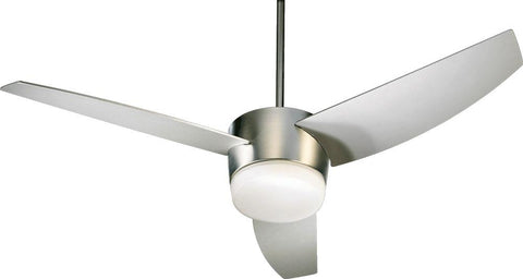 "Trimark 20543 LED 54"" Ceiling Fan in Satin Nickel or Chrome or Studio White Finish"
