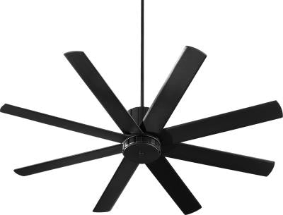 "Proxima 60"" Ceiling Fan in Noir Black or Oiled Bronze or Satin Nickel Finish"