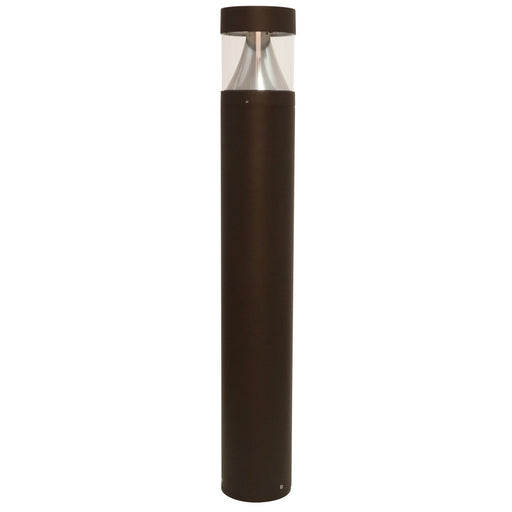 Rainbow BOL-R-27L-XX-BOL-R-MTGKIT Round Outdoor Exterior Bollard with Anchor Bolt Kit - choose Kelvin - click  below for 4000k, 5000k
