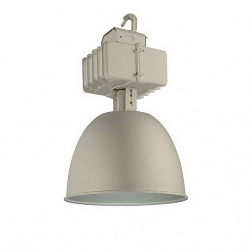 Nuvo Lighting 65-015 One Light HID 400 Watt Metal Halide High Bay Indoor or Outdoor Ceiling Pendant Fixture in Aluminium Finish - Quality Discount Lighting