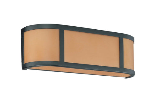 Nuvo Lighting 60-2872 Odeon Collection Two Light Bath Vanity Wall in Aged Bronze Finish - Quality Discount Lighting