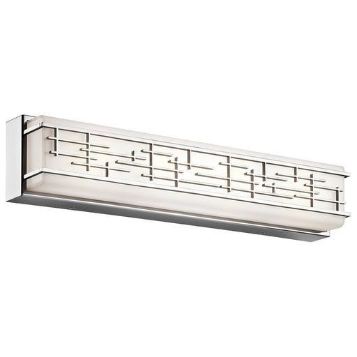 Kichler Lighting 45830CHLED  Zolon Collection LED Bath Vanity Wall Mount in Polished Chrome Finish