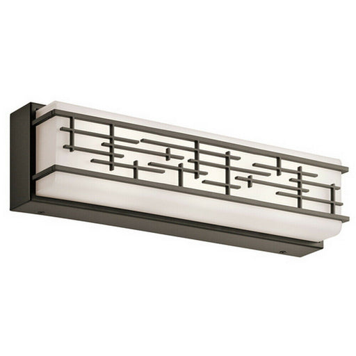 Kichler Lighting 45829OZLED  Zolon Collection LED Bath Vanity Wall Mount in Old Bronze Finish