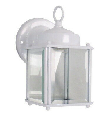 Rainbow EVER 1261 WH One Light Exterior Wall Lantern in White Finish