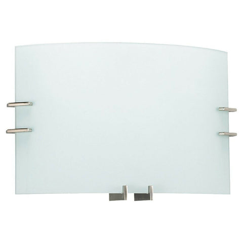Seagull Lighting 49170BLE-962 Signature Collection Two Light LED ADA Wall Sconce in Brushed Nickel Finish