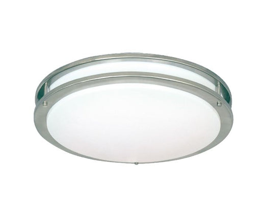 Sunpark DC010-122-62 One Light Energy Efficient Ceiling Fixture in Satin Nickel Finish