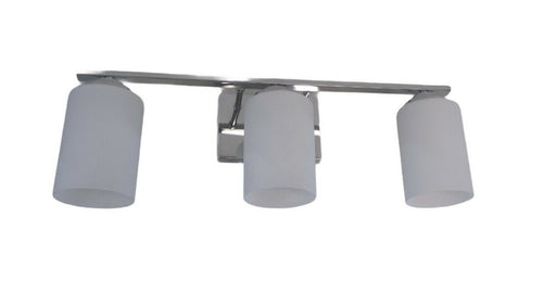 Trans Globe Lighting PL-470523PC-LED Mod Pod Collection Three Light GU24 Bath Wall Fixture in Polished Chrome Finish