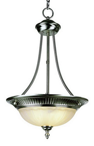 Trans Globe Lighting 6671 BN Mediterranean Collection Pendant in Brushed Nickel Finish - Discount Lighting Fixtures
