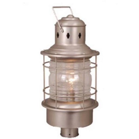 Vaxcel Lighting OP37005 BN One Light Exterior Outdoor Post Lantern in Brushed Nickel Finish - Quality Discount Lighting