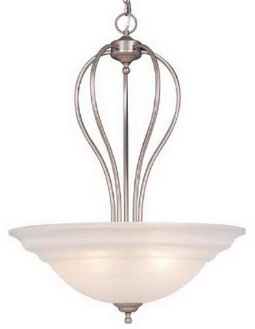 Vaxcel Lighting PD65324 BN Five Light Hanging Pendant in Brushed Nickel Finish - Quality Discount Lighting