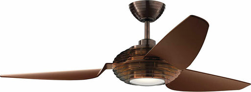 "Kichler Lighting 300708OBB Voya Collection 50"" Ceiling Fan in Oil Brushed Bronze Finish"