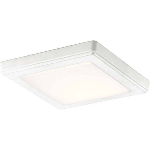 Kichler Lighting 44245WHLED30 ZEO Collection 3000 Kelvin LED Flushmount in White Finish