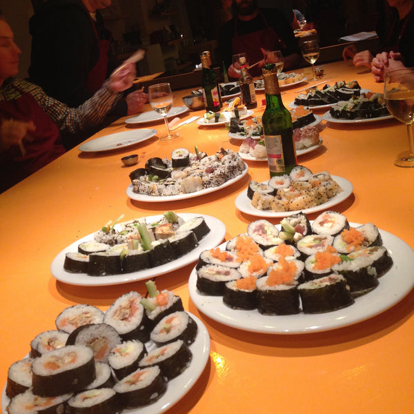 """Sushi traditionell"" <br /> Sa.2.September.2017, <br />14:00-16:30 Uhr"