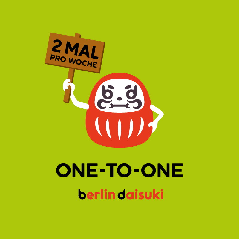 2 Mal pro Woche <br />(One-to-One)