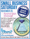 Small Business Saturday Sale - November 26