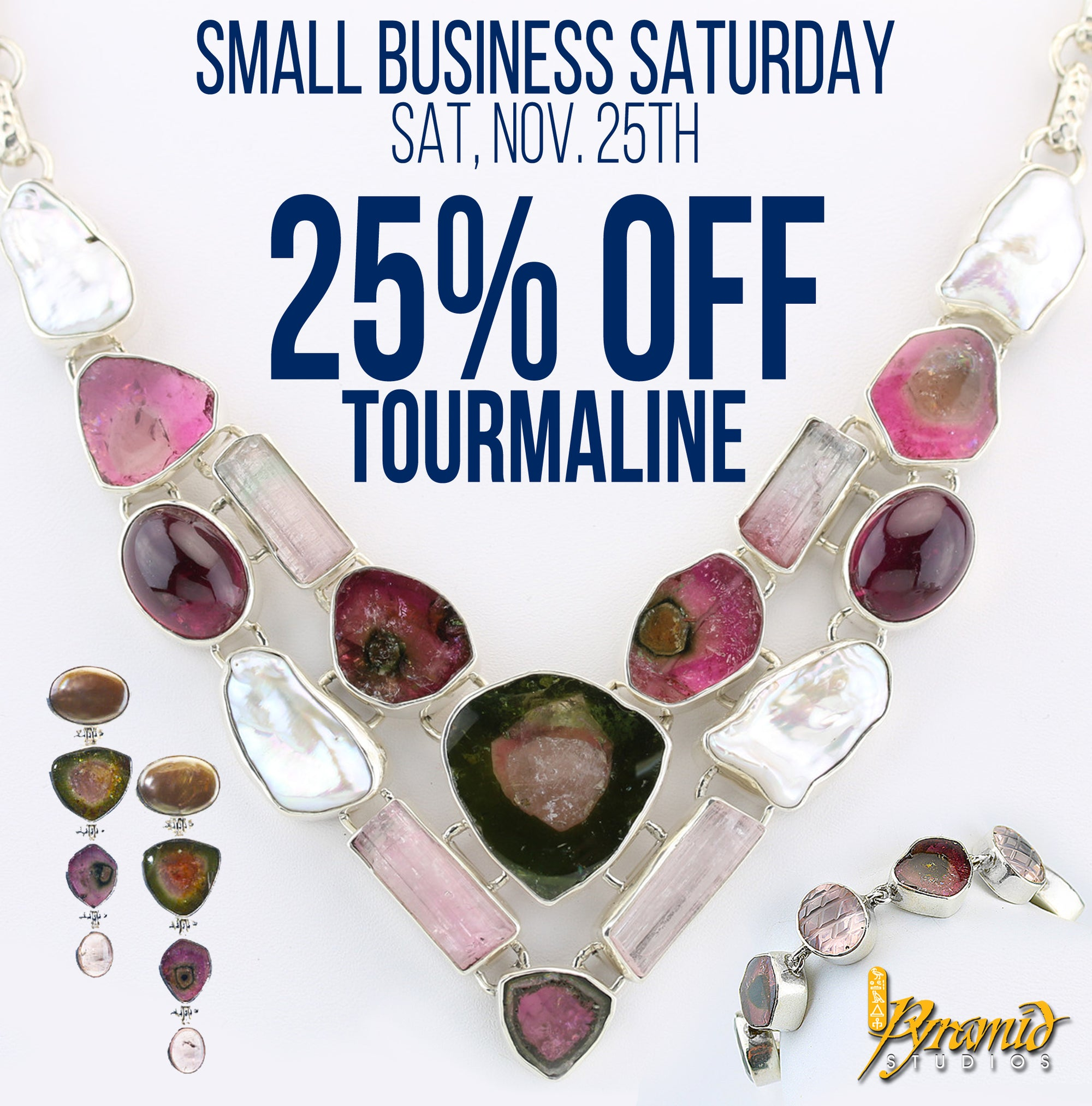 Small Business Saturday Sale / Nov 25th