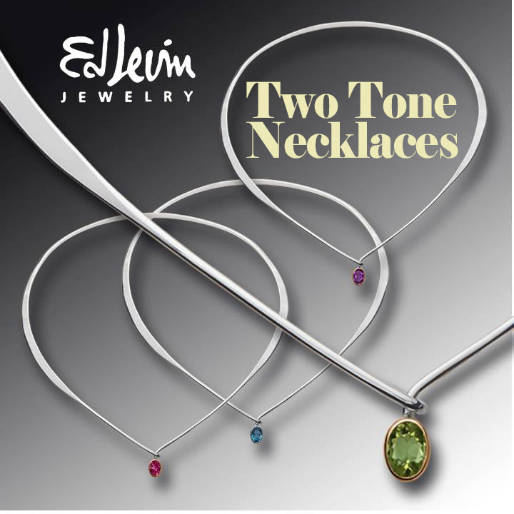 Ed Levin Two Tone Necklaces