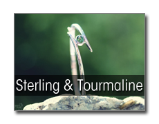 Tourmaline Sterling Silver Jewelry