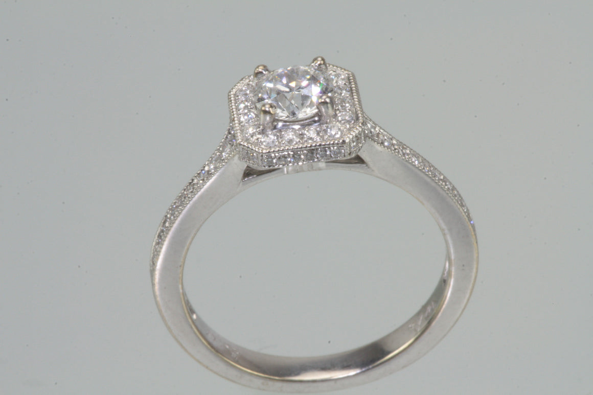 diamond ring style unique inscribed era rings of lovely engagement regency renaissance