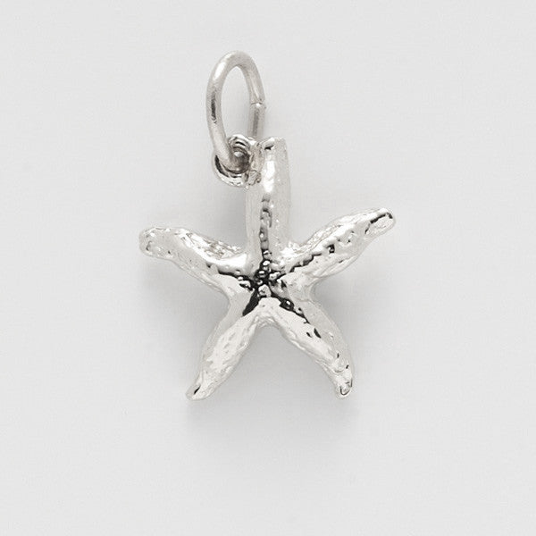 JewelsObsession Sterling Silver 24mm Shell Charm w//Lobster Clasp