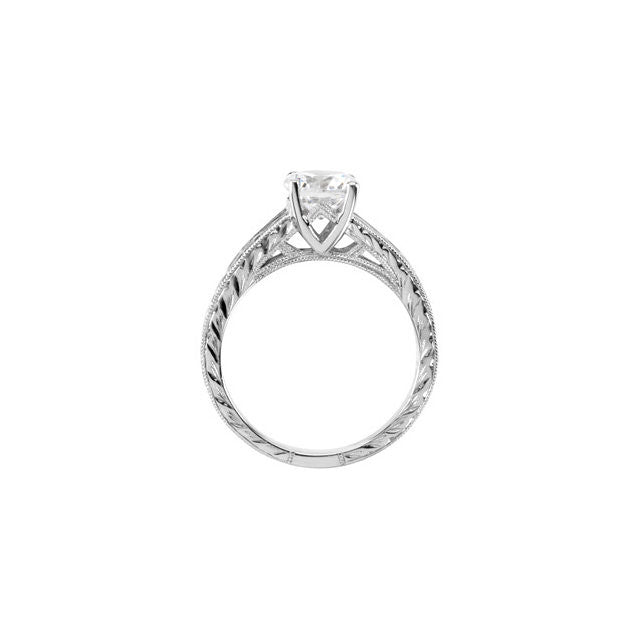 Engagement Ring Mounting 121440
