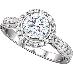 Engagement Ring Mounting 122030